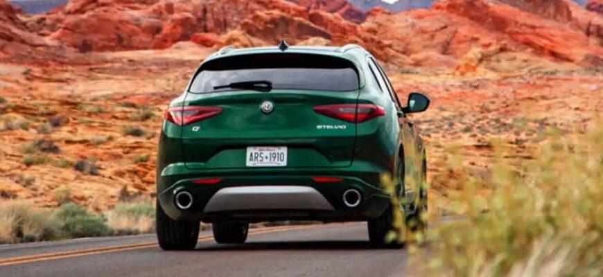 Spécifications de la puissance de l'Alfa Romeo Stelvio 2021